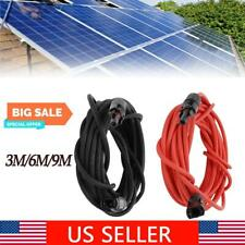 10Awg Electrical Cord Solar Extension Wire Connector Solar Panel Adaptor 1.8Kv