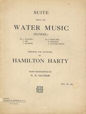 Suite dal WATER Music di Handel per Pianoforte: Hamilton Harty e G H clutsam