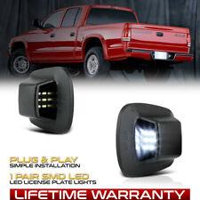 2x Full Led White License Plate Light Tag Kit For 1997 2011 Dodge Dakota Pickup