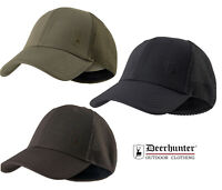 Deerhunter Flex Cap 6989 Hunting Baseball Hat Black/Fallen Leaf Stretch Fit