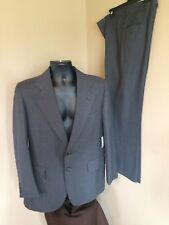 CITY STREETS Suit Men 42R Suit Jacket 33x30 Pant Gray Stripe Sport Coat $169 NEW