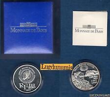 Paul-Emile Victor 1 Euro 1/2 2007 en Argent BE Boite + Certificat