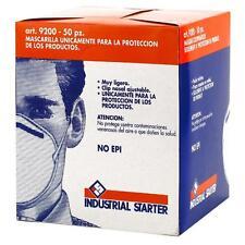50 MASCHERINE MASCHERA MASCHERINA PROTETTIVA NO DPI INDUSTRIAL STARTER COD. 9200