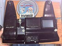Vintage KALART Movie Editor Viewer Eight 8MM FILM SPLICER MODEL EV-8 DS ORIG BOX
