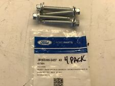 Ford Lincoln OEM Mount Bracket Mount Bolt 4 PACK W503300-S437