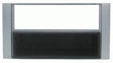 Mascherina con foro ISO/Doppio Iso/Doppio DIN colore argento FORD 07> S-Max - F