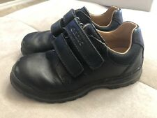 Geox Boys Dress Shoes Black Size 11 Comfortable Leather