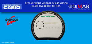 Replacement Original Watch Glass Casio G-Shock. DW-9000C-3V. NOS