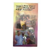 Young People Ask How Can I Make Real Friends VHS Tape