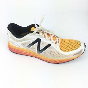 New Balance Fresh Foam Zante V2 Orange White Running Shoe Men's US 11 MZANTH12