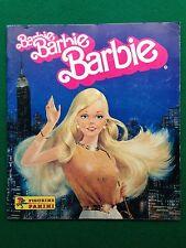 ALBUM Figurine Sticker BARBIE BARBIE BARBIE , Ed. Panini 1984 COMPLETO !!! 100%