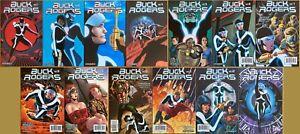 Buck Rogers #1-12 + #0 (Dynamite 2009). Complete set.