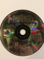 Clock Tower 2 Struggle Within Ps1 Game Working Disc Only Playstation Horror Game