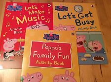 Peppa Pig Activity Book Let's Make Music by Ladybird