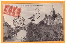 BUCY-le-LONG (02) VILLAS & EGLISE SAINTE-MARGUERITE animées en 1922