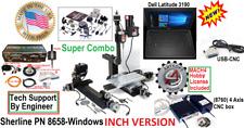 Sherline 8658 Supercombo Dell Laptop Usb Cnc 5 Limit Sw Digitiz Probe Emerg Stop