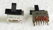 Deux commutateurs:Lecteur de cassette SONY TC-WR520,Pièces détachées.