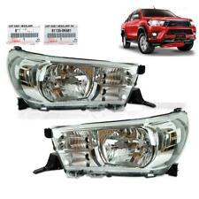2015 2016 2017 Pair Head Light Lamp RH LH Genuiene 2 Pc Fits Toyota Hilux Revo