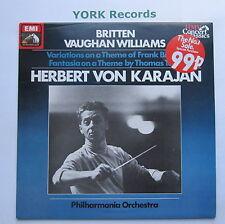 XLP 60002 - BRITTEN - Variations On A Theme Of Frank Bridge - Ex Con LP Record