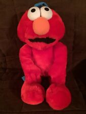 Elmo Plush Backpack sesame street Muppets kids small 2002