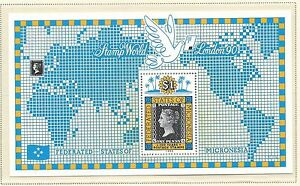1990 Penny Black Anniversary  Mini Sheet  Complete MUH/MNH as Issued