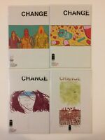 Complete Set Change #1 2 3 4 Image Comics (2012)