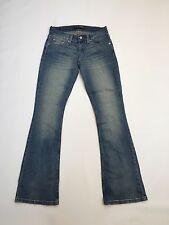 "Women's LEVI 'Slim Bootcut ""Jeans-W26 L32-Faded Bleu Marine Laver-très bon état"