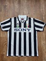 Rare JUVENTUS 1996 SONY Vintage KAPPA Home Shirt Jersey Maglia