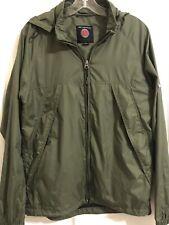 SCOTTeVEST TEC Men's Small S Green Packable Water Resistant Full Zip Jacket Hood