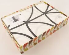 ORLA KIELY Bed Linen, Single Duvet Cover Set, Large Linear Stem Graphite
