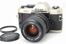 Near Mint Nikon FM10 35mm SLR Film Camera with 35-70mm Ai-s Lens from Japan a135
