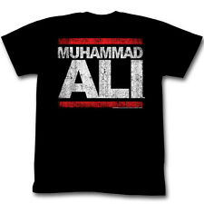 Muhammad Ali T-shirt Distressed Run DMC Boxing RUN ALI Rap Mens Tee SMALL New