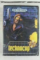 Technocop for Sega Genesis 1990 Complete Game Manual Case One Player Rare