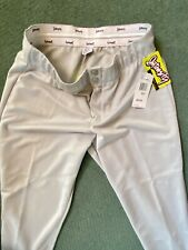 New Intensity Soffe Womens Light Gray Softball Pants In XL - Ladies Baseball