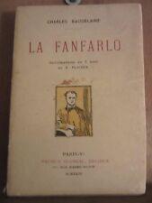 Charles Baudelaire: La Fanfarolo, illustrations en 3 tons de Placek/Glomeau,1922