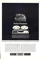1966 Sony Superscope Reel to Reel Model PR-150 PRINT AD