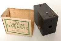 KODAK CARTRIDGE HAWK-EYE NO.2 MODEL C BOX CAMERA. W/PART MAKERS BOX