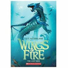 Wings of Fire Book Two: The Lost Heir by Tui T. Sutherland (English) Paperback B