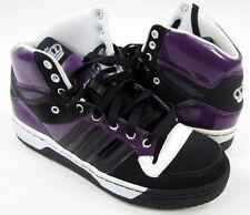 Adidas Shoes Attitude Hi - Black/Purple/White Sneakers Mens 7 / Womens 8.5