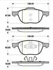 Kit Plaquettes Frein AV TRISCAN VOLVO C70 II Décapotable 2.4 D 163 CH
