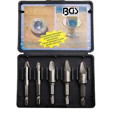 BGS Werkzeug PRO+ Schrauben-Ausdreher-Set, 5-tlg.Gewindeinstandsetzung