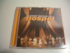 20 CLASSIQUES DU GOSPEL - COMPILATION (CD)