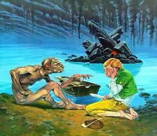 1980 JRR TOLKIEN CALENDAR ~ ILLUSTRATORS ED ~ WHELAN Darrell Sweet HILDEBRANDT +