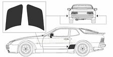 83-91 PORSCHE 944S MATTE BLACK STONE GUARD CLASSIC