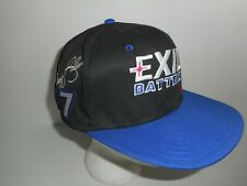 Vintage NASCAR Exide Batteries Racing Team Geoff Bodine Snapback Hat Cap