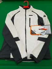 LADIES ICEPEAK WINTER WALKING FLEECE JACKET WHITE-BLACK SIZE EU 36 FIT 8