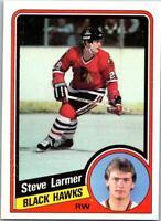STEVE LARMER 1984-85 TOPPS #30 NRMT (25% OFF)