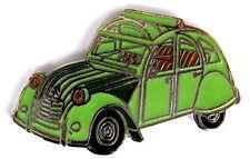 AUTO Pin / Pins - CITROEN CITRÖN 2CV ENTE mit Faltdach,grün [1306]