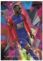 2016-17 Topps Stadium Club Premier League Golazo Black Foil #5 Christian Benteke