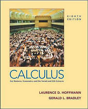 Calculus for Business, Economics and the Social and Life Sciences by Hoffman, L